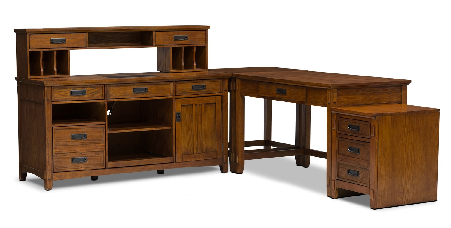 Carson 5-Piece Desk Package