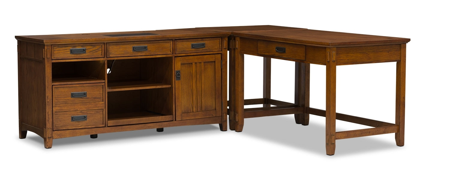 Carson piece desk package united furniture warehouse