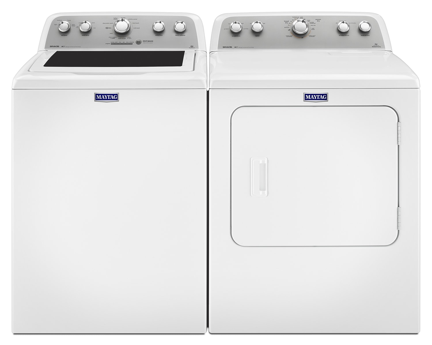 The Maytag MA655LDY Laundry Collection