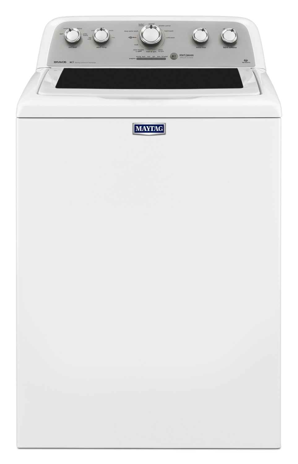 Washers and Dryers - Maytag Bravos® 5.0 Cu. Ft. Top-Load Washer - White