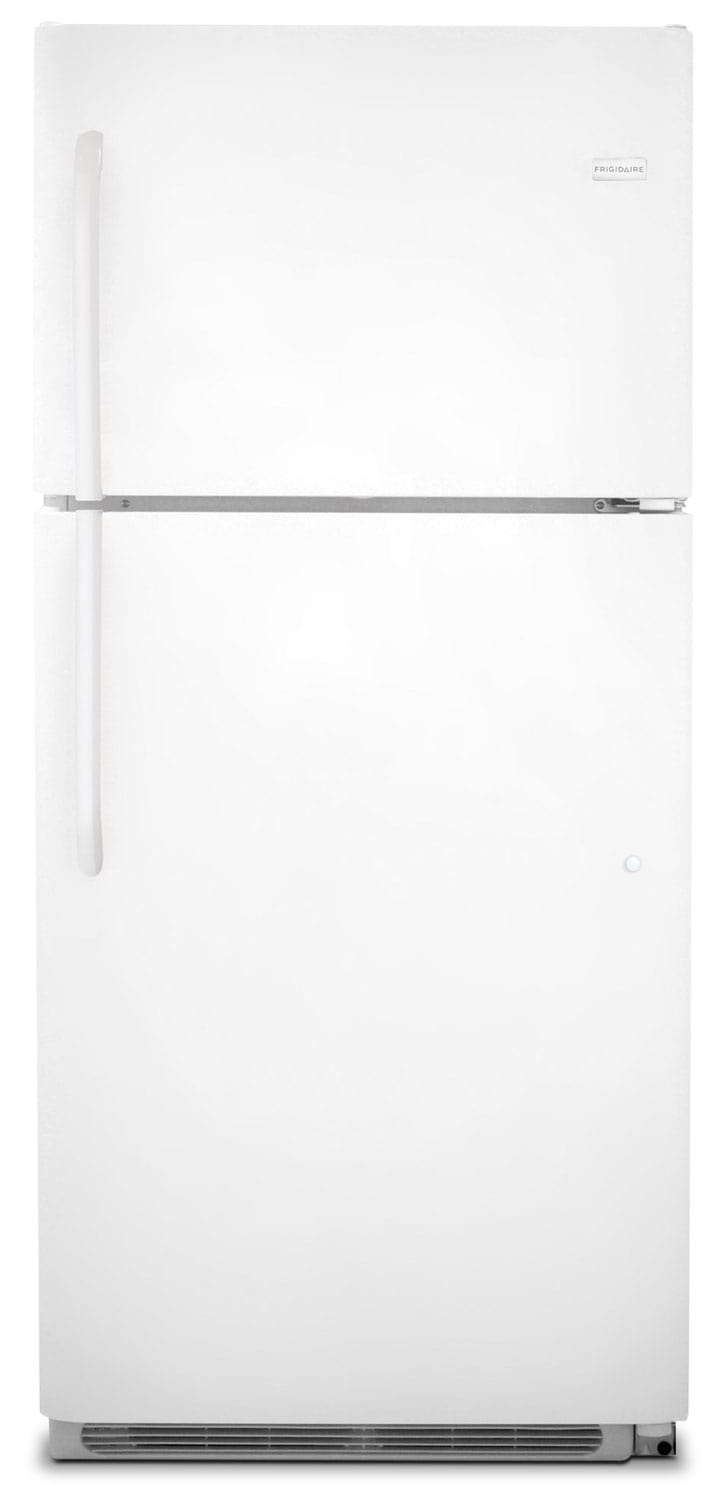 Refrigerators and Freezers - Frigidaire White Top-Freezer Refrigerator (20.4 Cu. Ft.) - FFTR2021QW