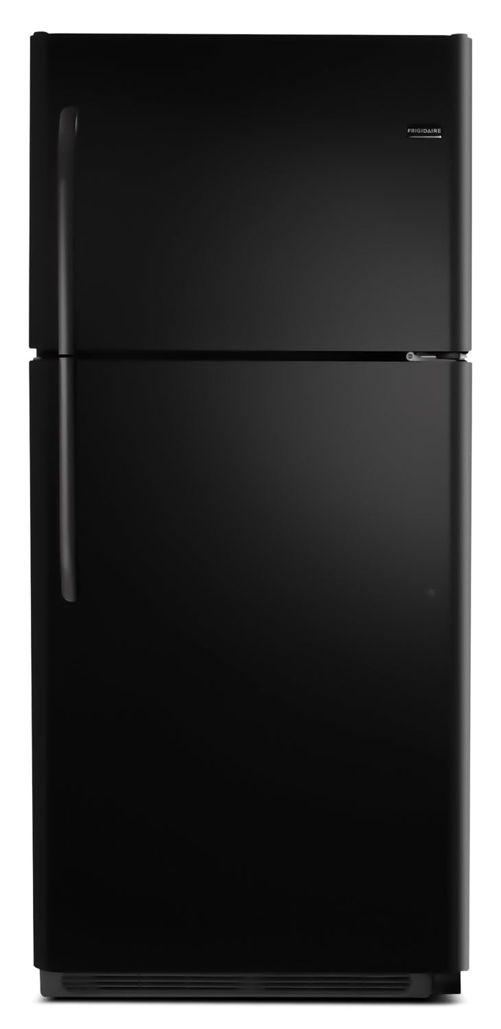 Refrigerators and Freezers - Frigidaire Black Top-Freezer Refrigerator (20.4 Cu. Ft.) - FFTR2021QB