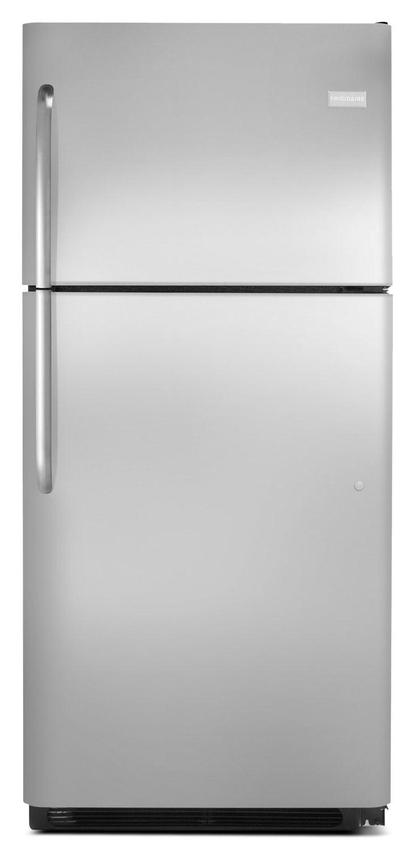 Refrigerators and Freezers - Frigidaire Stainless Steel Top-Freezer Refrigerator (20.4 Cu. Ft.) FFTR2021QS
