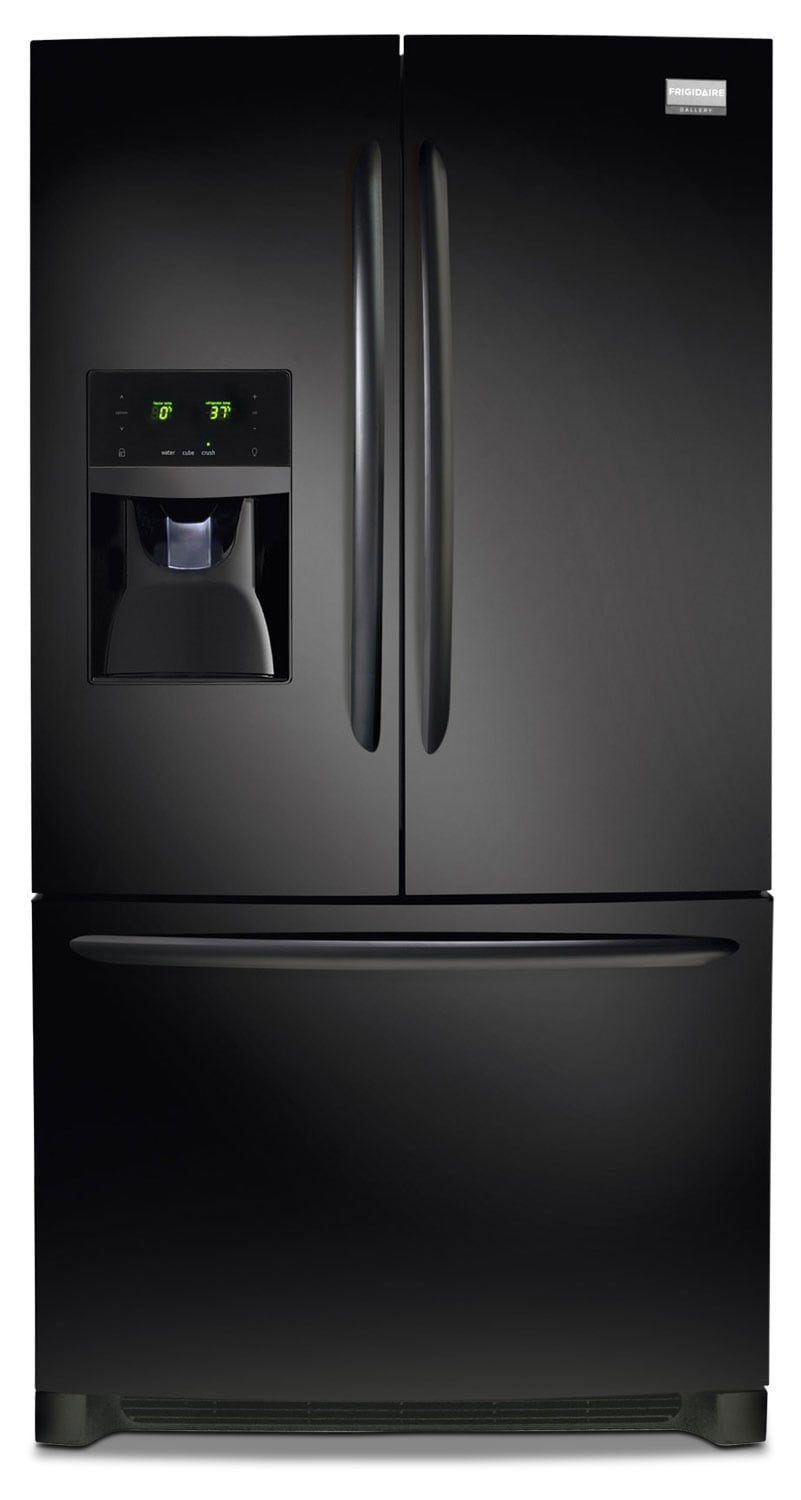Refrigerators and Freezers - Frigidaire Gallery Black French Door Refrigerator (27.7 Cu. Ft.) - FGHB2866PE