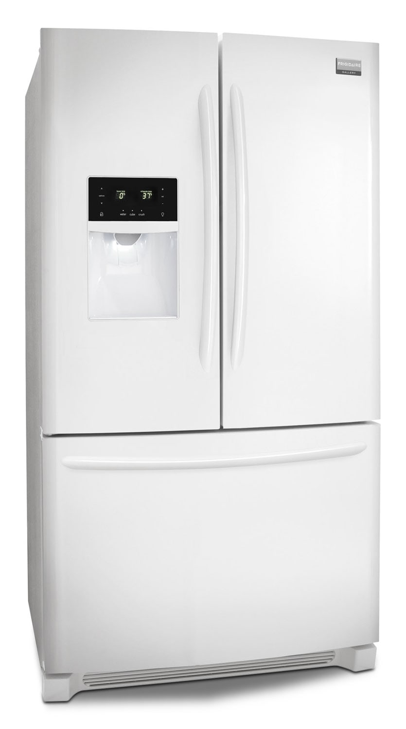 Frigidaire Gallery Pearl White French Door Refrigerator (27.7 Cu. Ft.)    FGHB2866PP