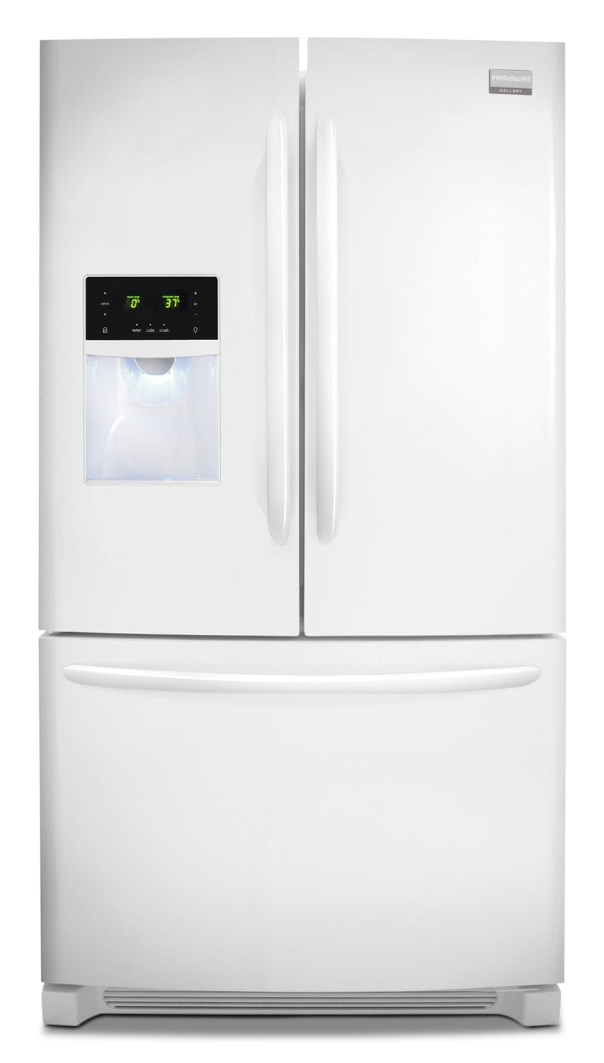 Refrigerators and Freezers - Frigidaire Gallery Pearl White French Door Refrigerator (27.7 Cu. Ft.) - FGHB2866PP
