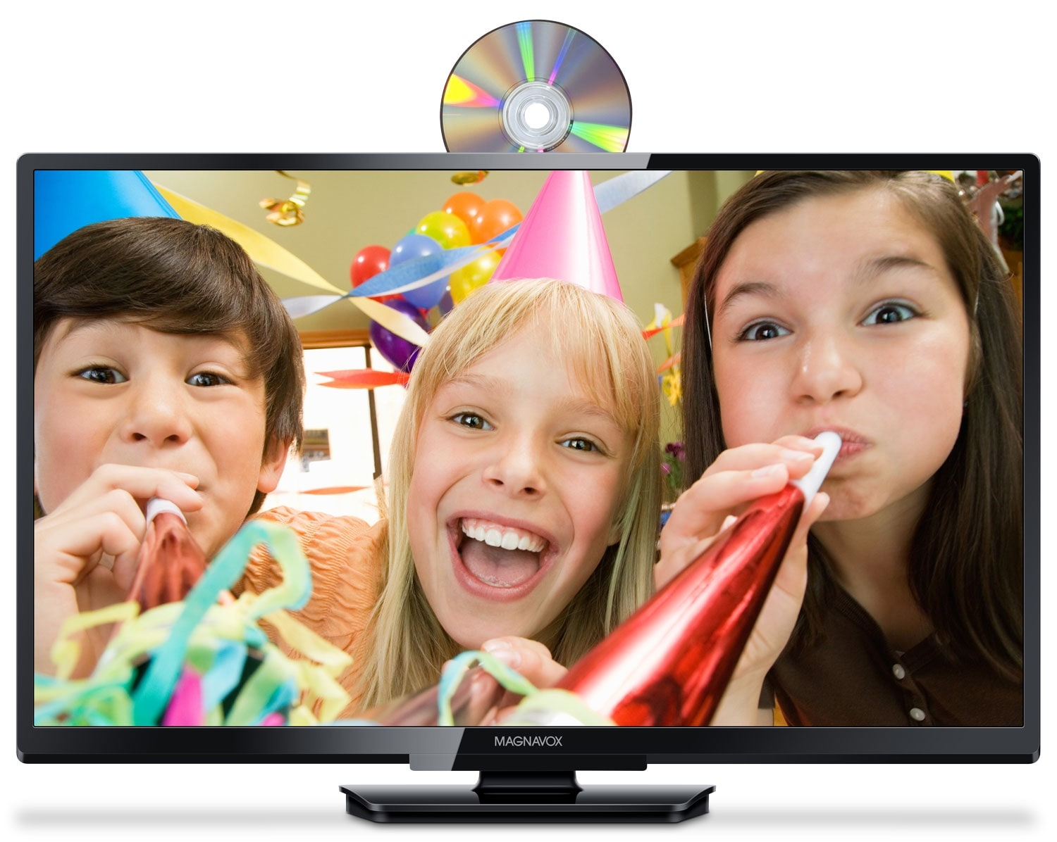 """Televisions - Magnavox 32"""" 720p LED HDTV with Built-in DVD Player"""