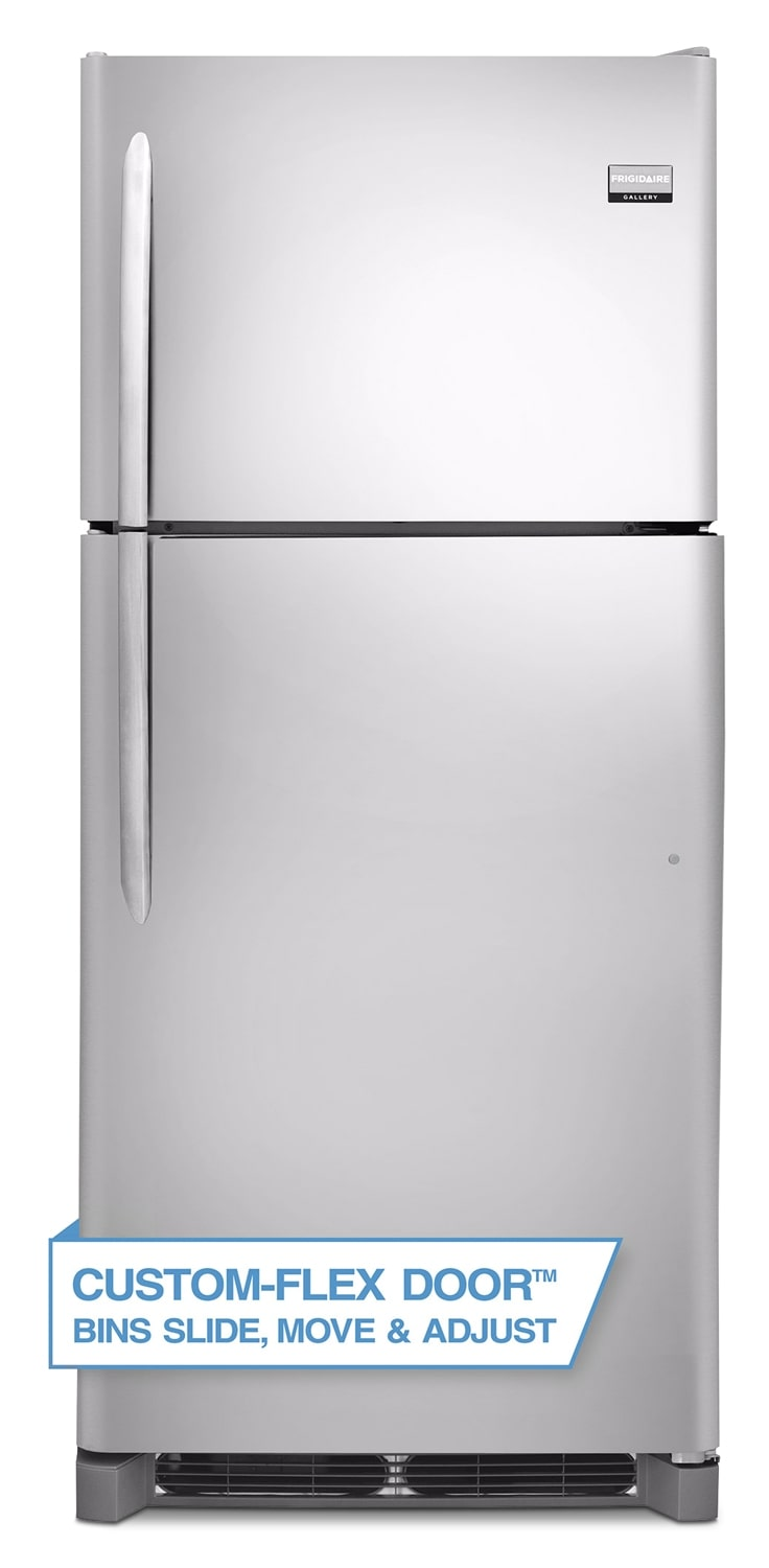 [Frigidaire Gallery Stainless Steel Top-Freezer Refrigerator (20.5 Cu. Ft.) - FGHI2164QF]