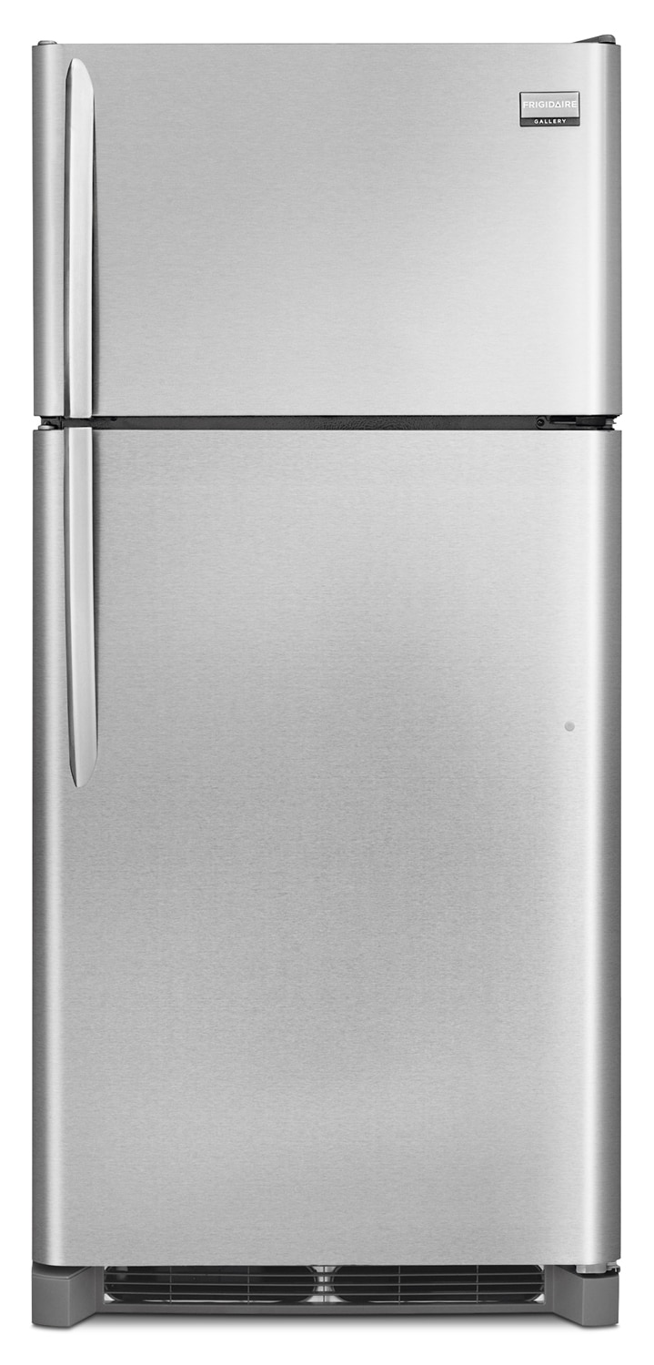 Refrigerators and Freezers - Frigidaire Gallery Stainless Steel Top-Freezer Refrigerator (18.3 Cu. Ft.) - FGHI1864QF