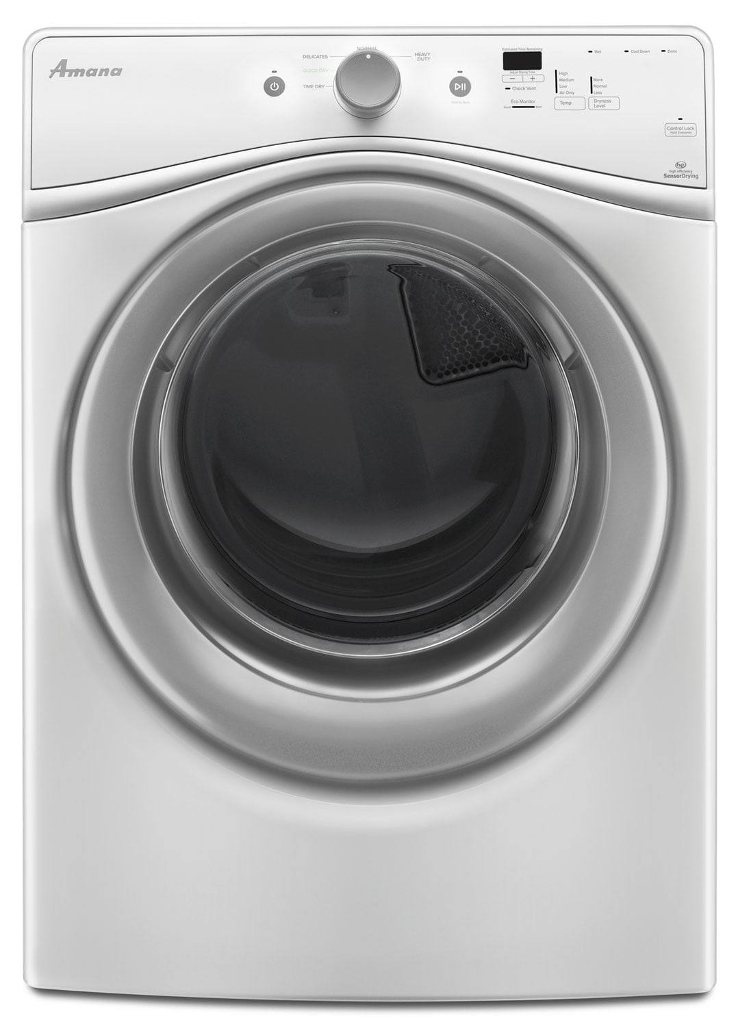 Amana White Electric Dryer (7.3 Cu. Ft.) - YNED5800DW