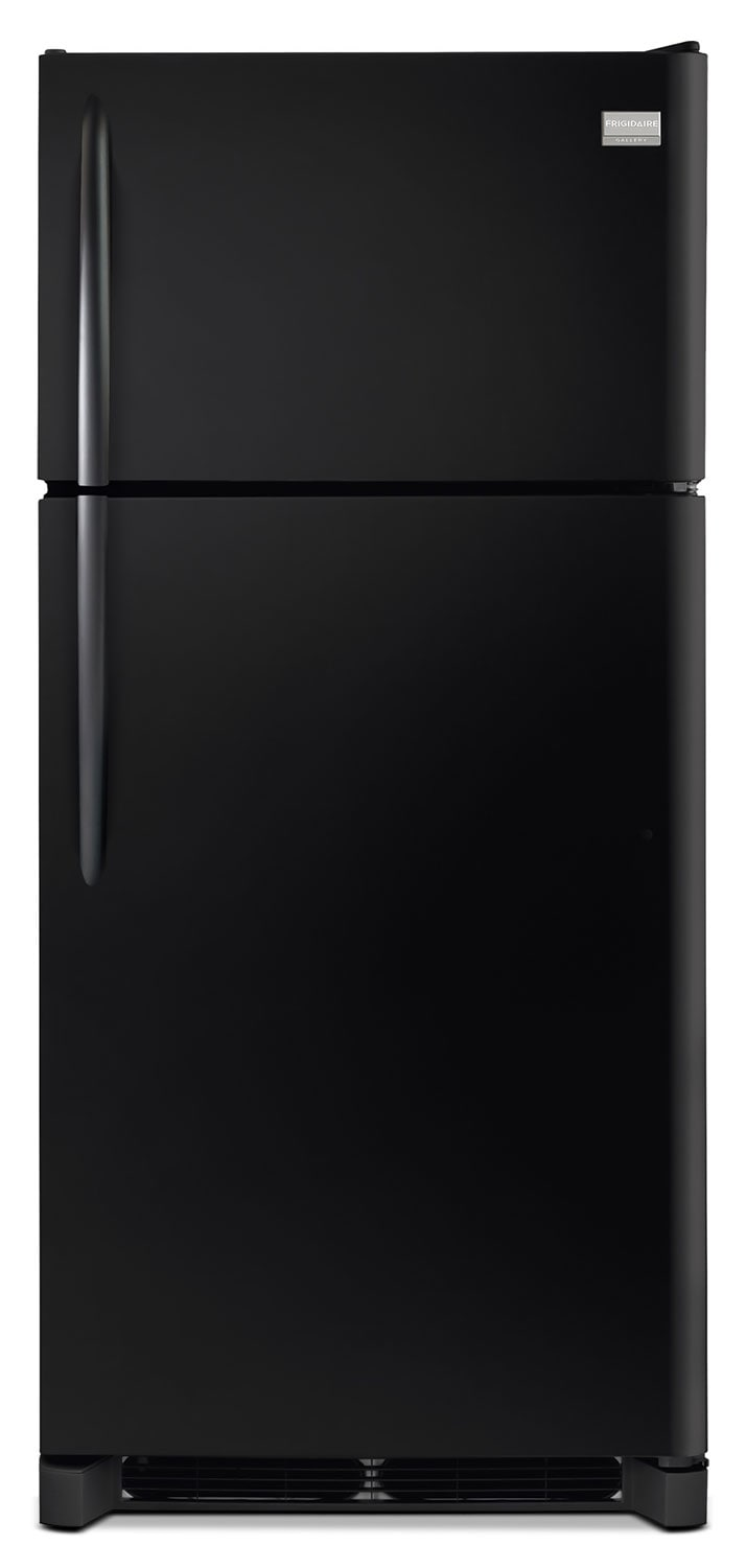 Refrigerators and Freezers - Frigidaire Gallery Black Top-Freezer Refrigerator (18.0 Cu. Ft.) - FGHT1846QE