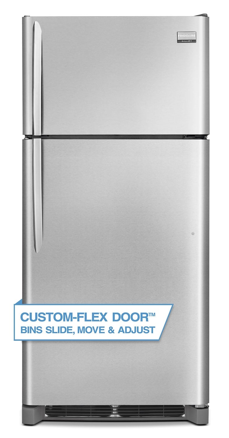 Frigidaire Gallery Stainless Steel Top-Freezer Refrigerator (18 Cu. Ft.) - FGHT1846QF