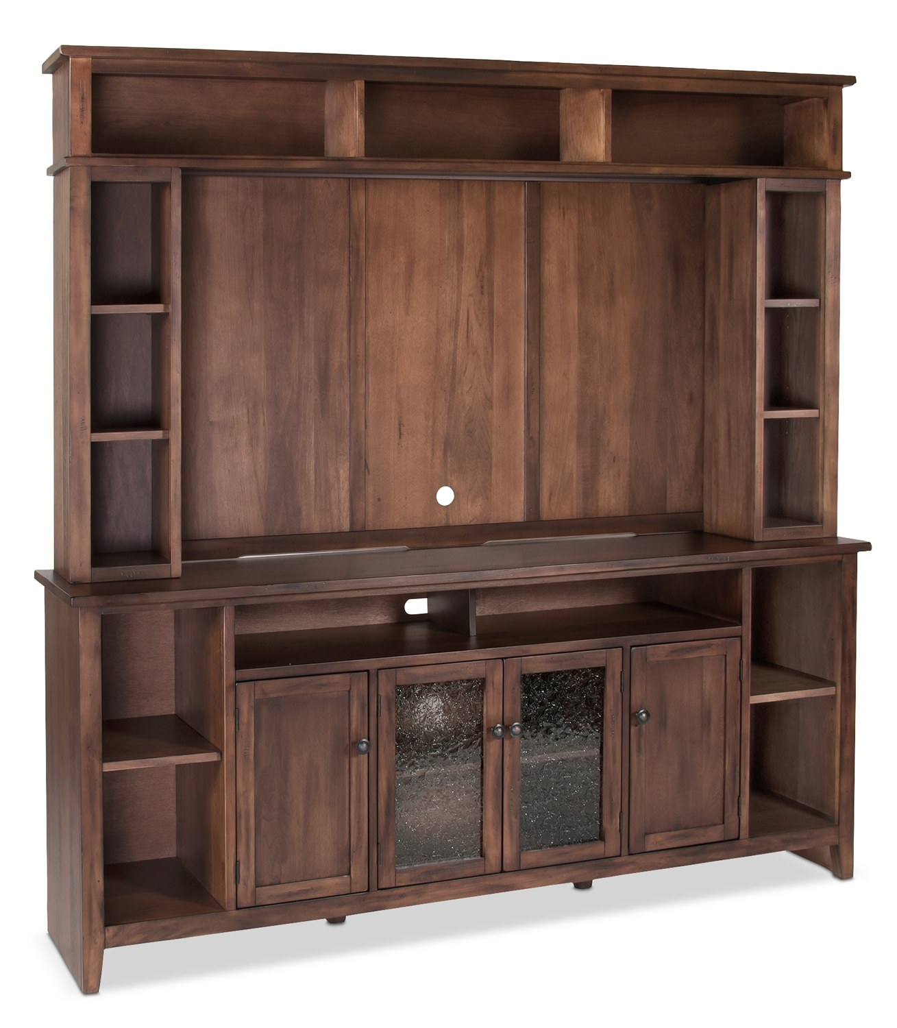 "Entertainment Furniture - Stratford 2-Piece Entertainment Centre with 62"" TV Opening"