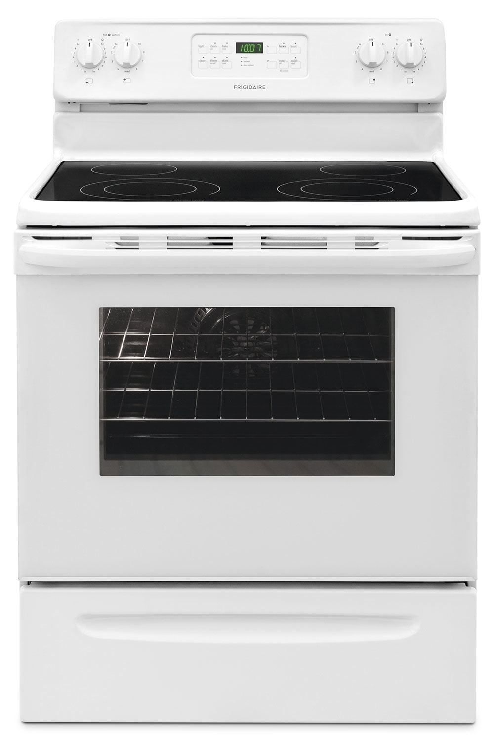 Frigidaire 5.4 Cu. Ft. Self-Clean Freestanding Range - White