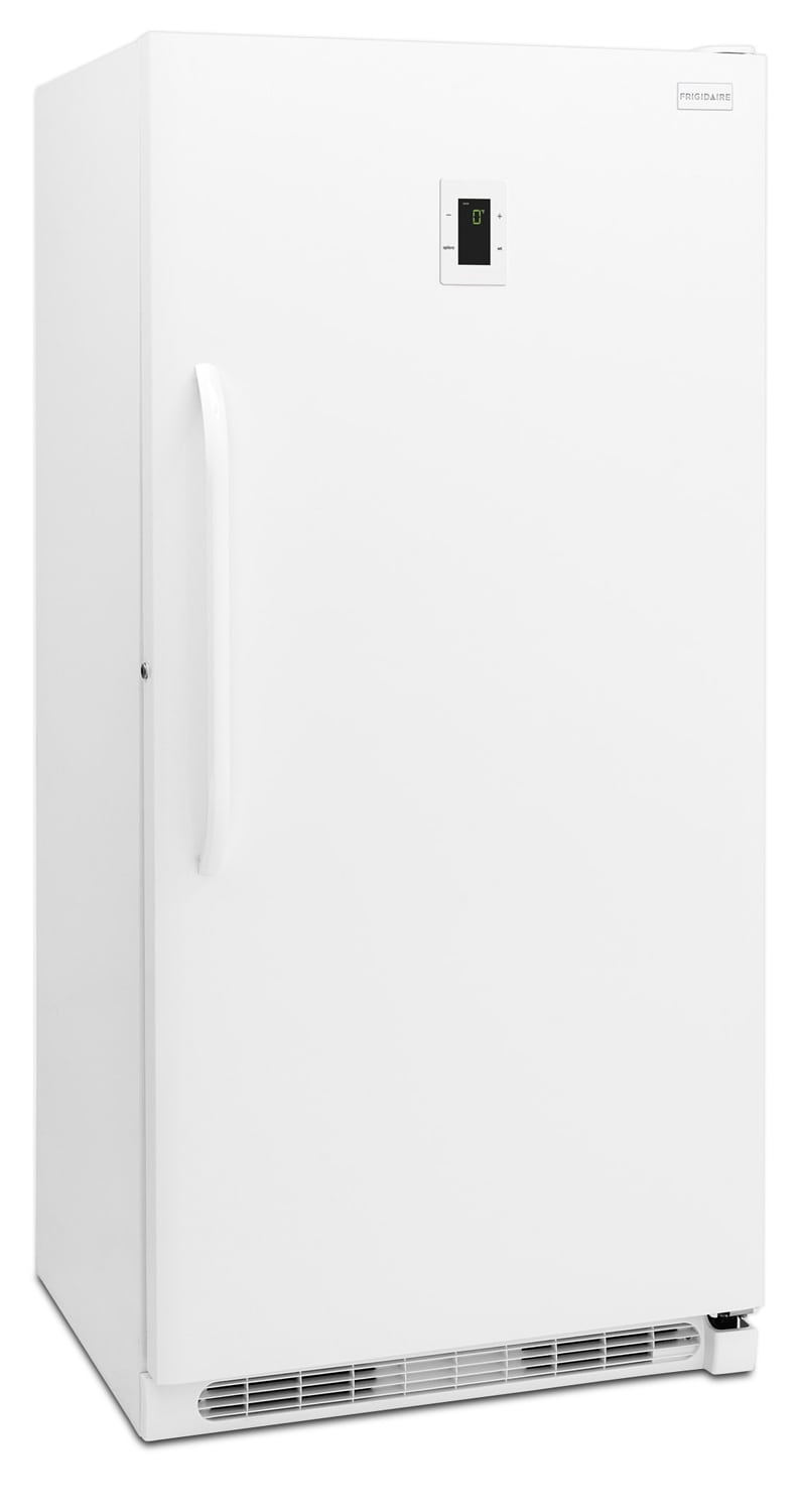 Refrigerators and Freezers - Frigidaire White Upright Freezer (16.6 Cu. Ft.) - FFFH17F6QW