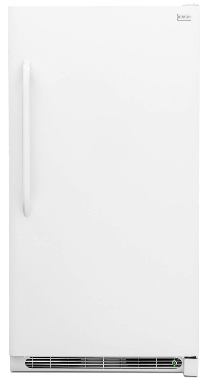 Refrigerators and Freezers - Frigidaire White Upright Freezer (20.9 Cu. Ft.) - FFFU21M1QW