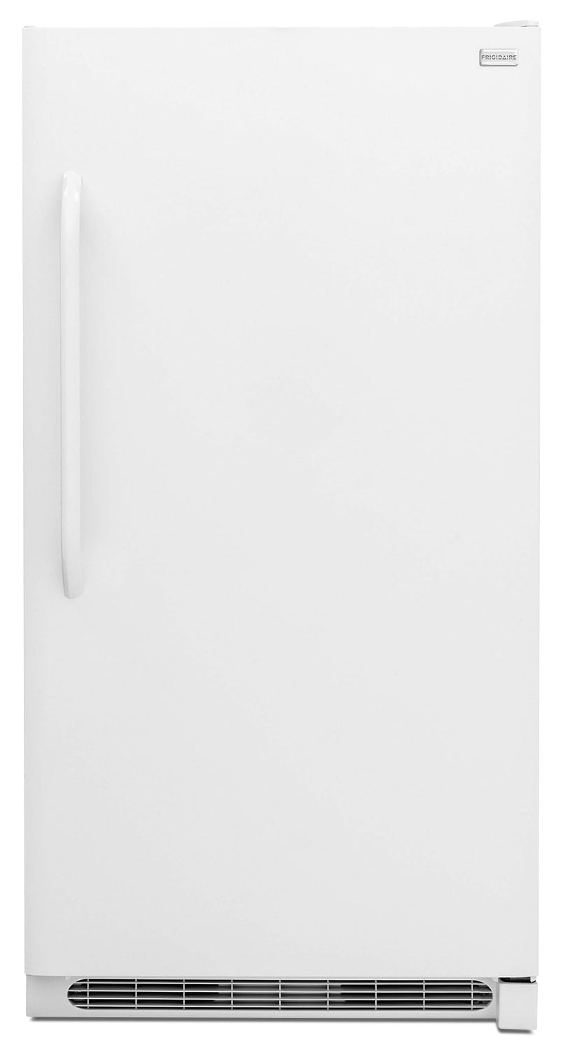 [Frigidaire White Upright 2-in-1 Convertible Freezer/Refrigerator (20.5 Cu. Ft.) - FFVU21F4QW]