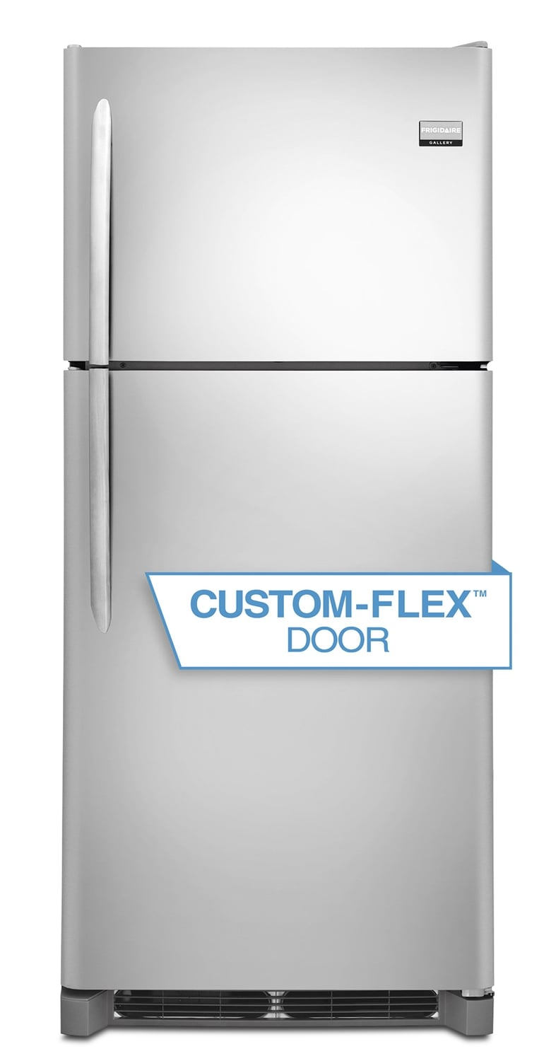 Refrigerators and Freezers - Frigidaire Gallery Stainless Steel Top-Freezer Refrigerator (20.4 Cu. Ft.) - FGTR2045QF