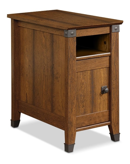 Carson Forge End Table – Washington Cherry