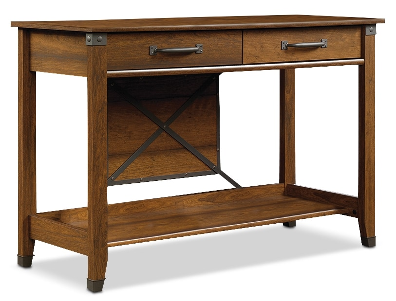 Accent and Occasional Furniture - Carson Forge Sofa Table – Washington Cherry