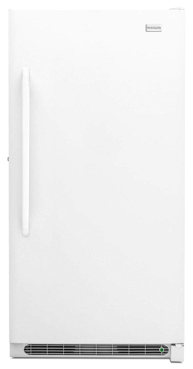 Refrigerators and Freezers - Frigidaire White Upright Freezer (20.5 Cu.Ft.) - FFFH21F4QW