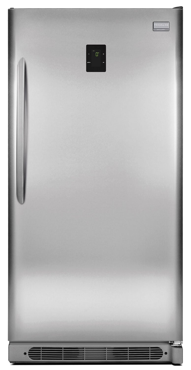 Refrigerators and Freezers - Frigidaire Gallery Stainless Steel 2-in-1 Upright Freezer (16.6 Cu. Ft.) - FGVU17F8QF