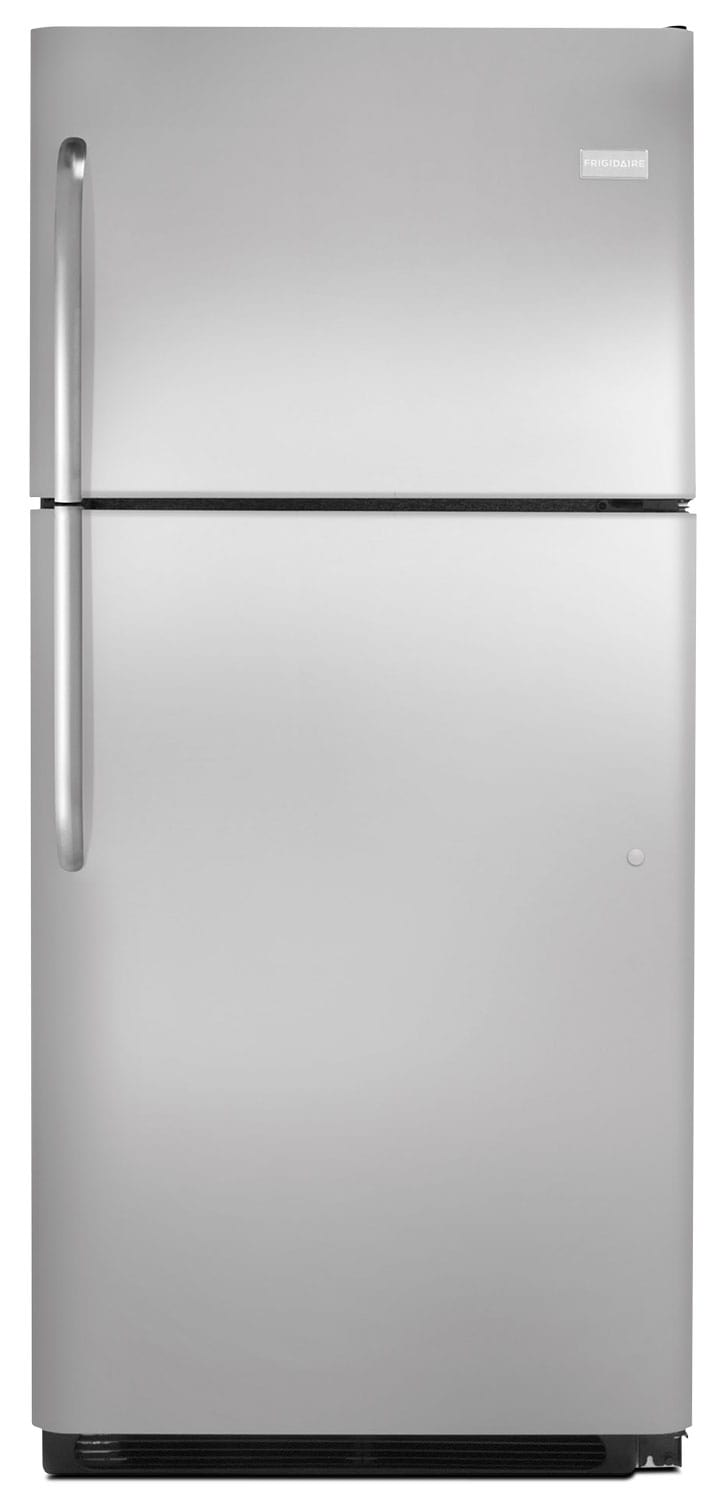 Refrigerators and Freezers - Frigidaire Stainless Steel Top-Freezer Refrigerator (20.5 Cu. Ft.) - FFHT2131QS