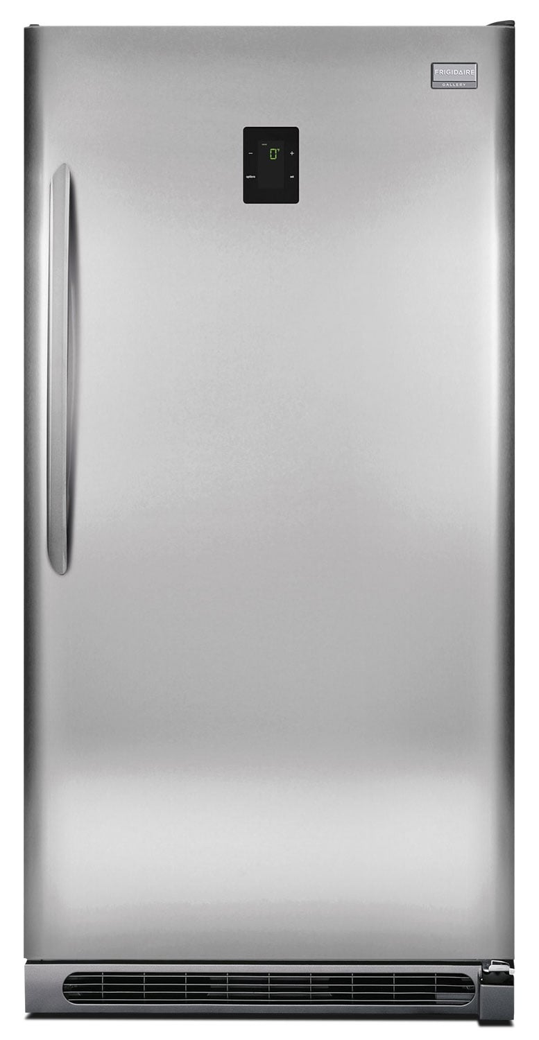 Refrigerators and Freezers - Frigidaire Gallery Stainless Steel 2-in-1 Upright Freezer (20.5 Cu. Ft.) - FGVU21F8QF