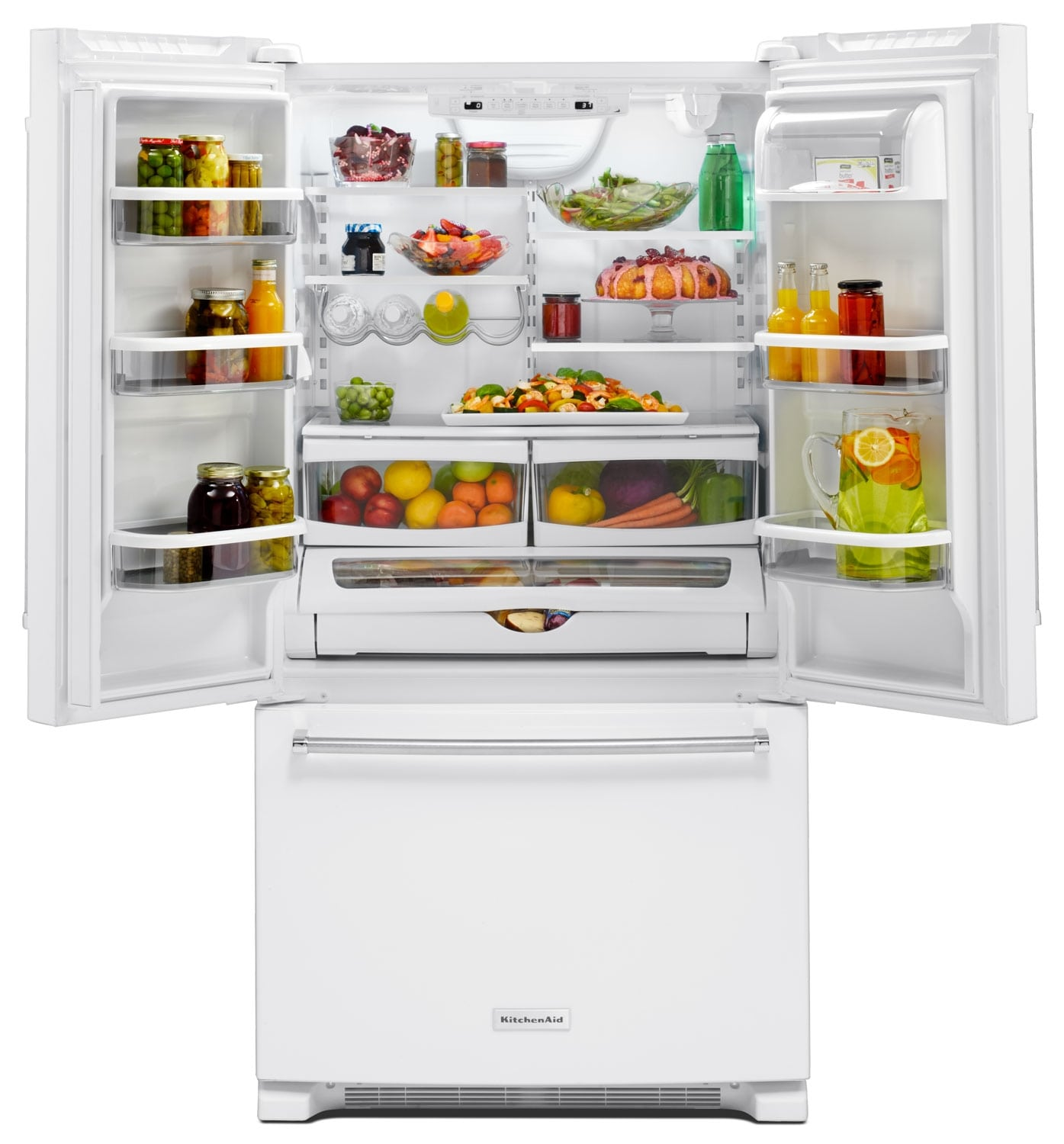 KitchenAid 20 Cu. Ft. French Door Refrigerator With