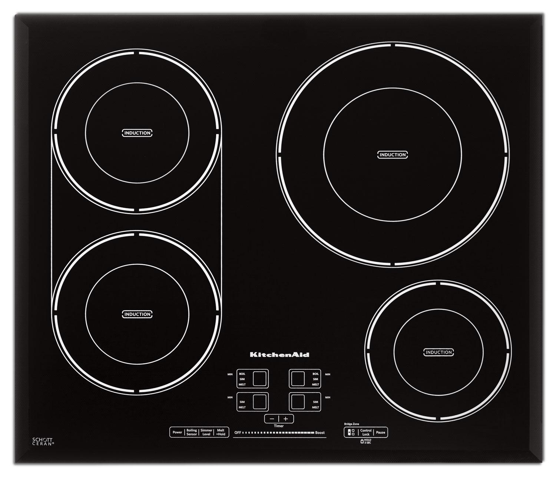 """KitchenAid 24"""" Four-Element Induction Cooktop"""