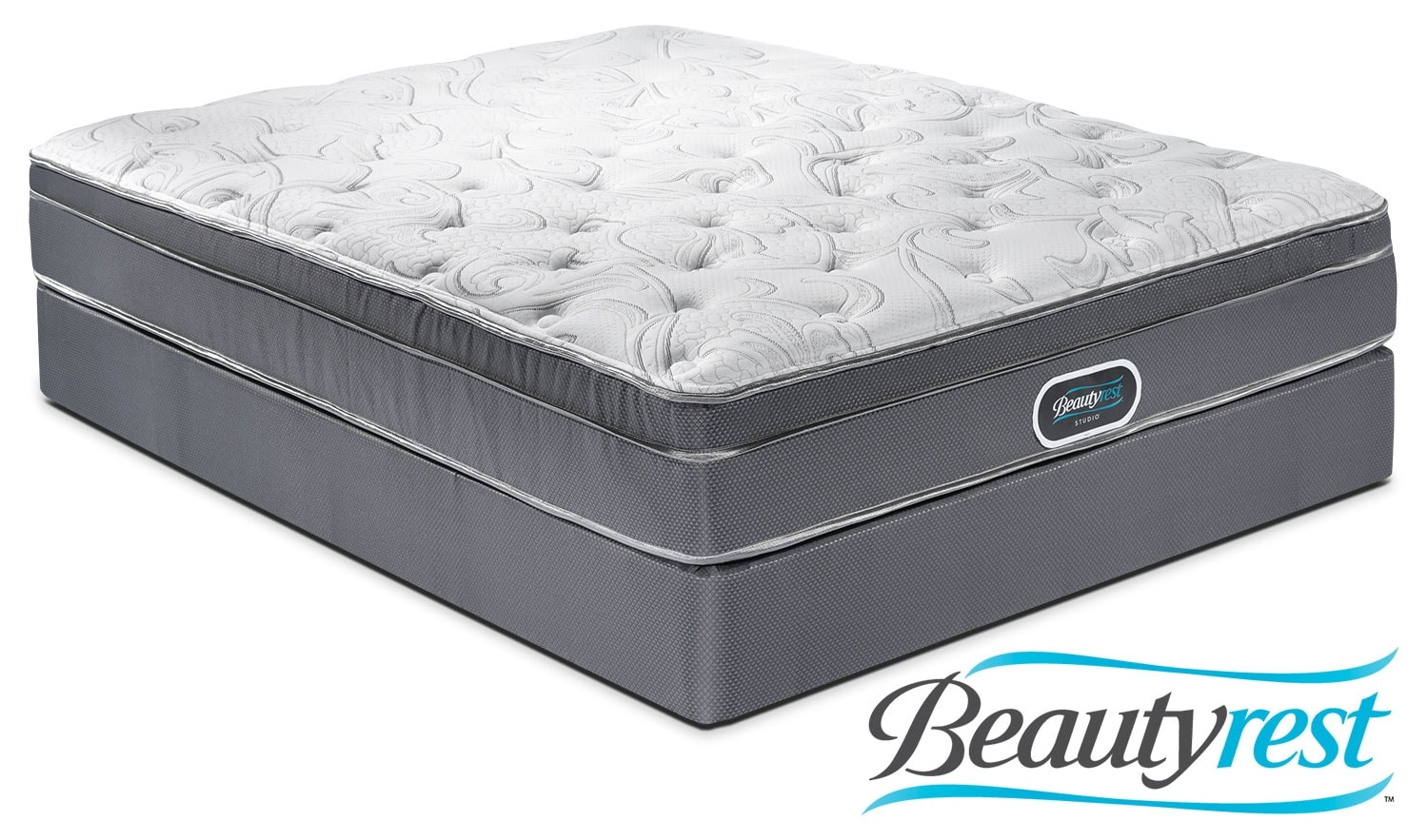 Mattresses and Bedding - Simmons Prince Edward Queen Mattress/Boxspring Set