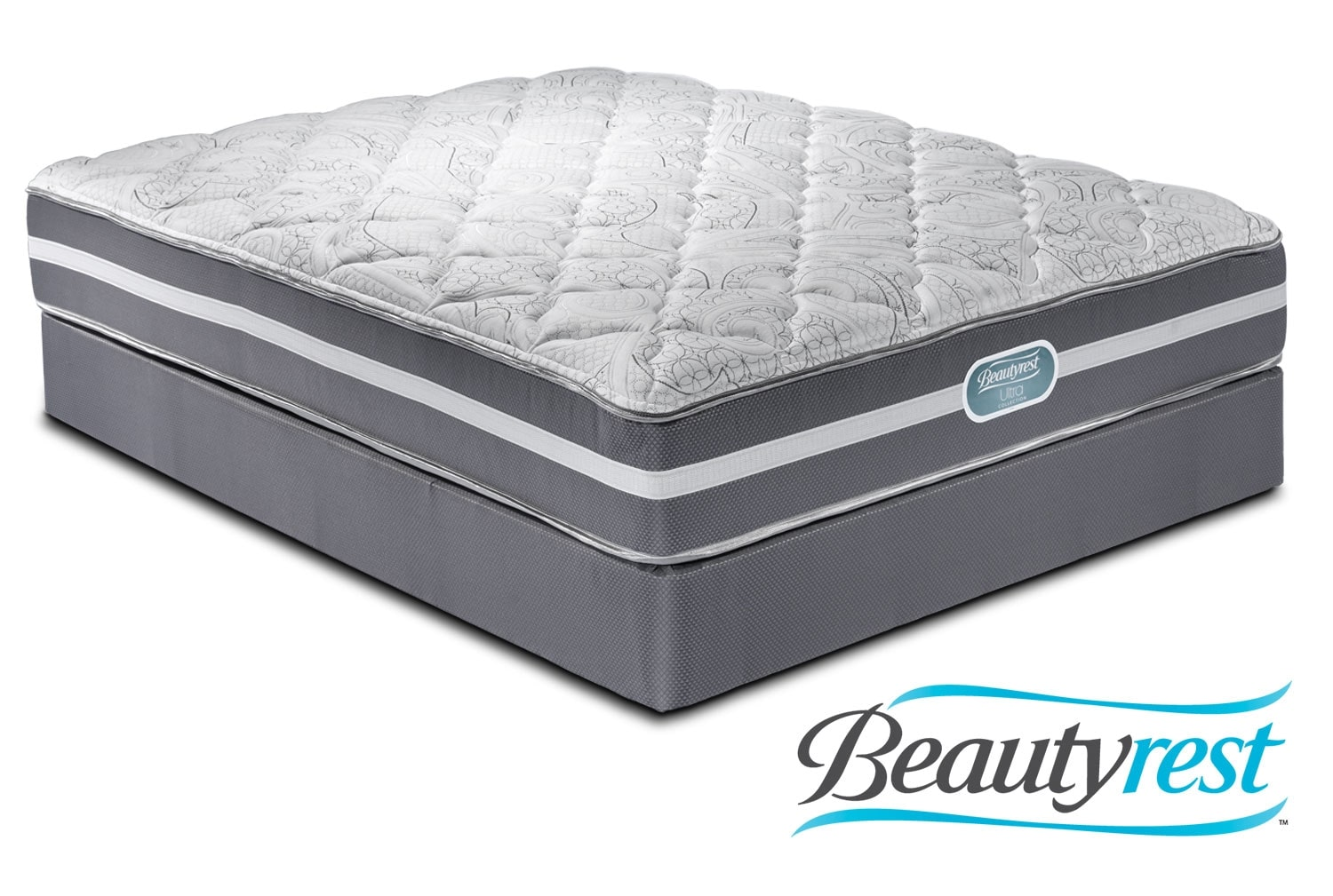 Mattresses and Bedding - Simmons Splendor King Mattress/Split Boxspring Set