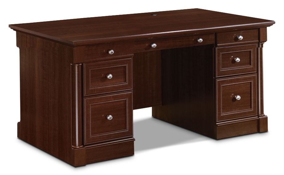 Home Office Furniture - Palladia Executive Desk - Select Cherry