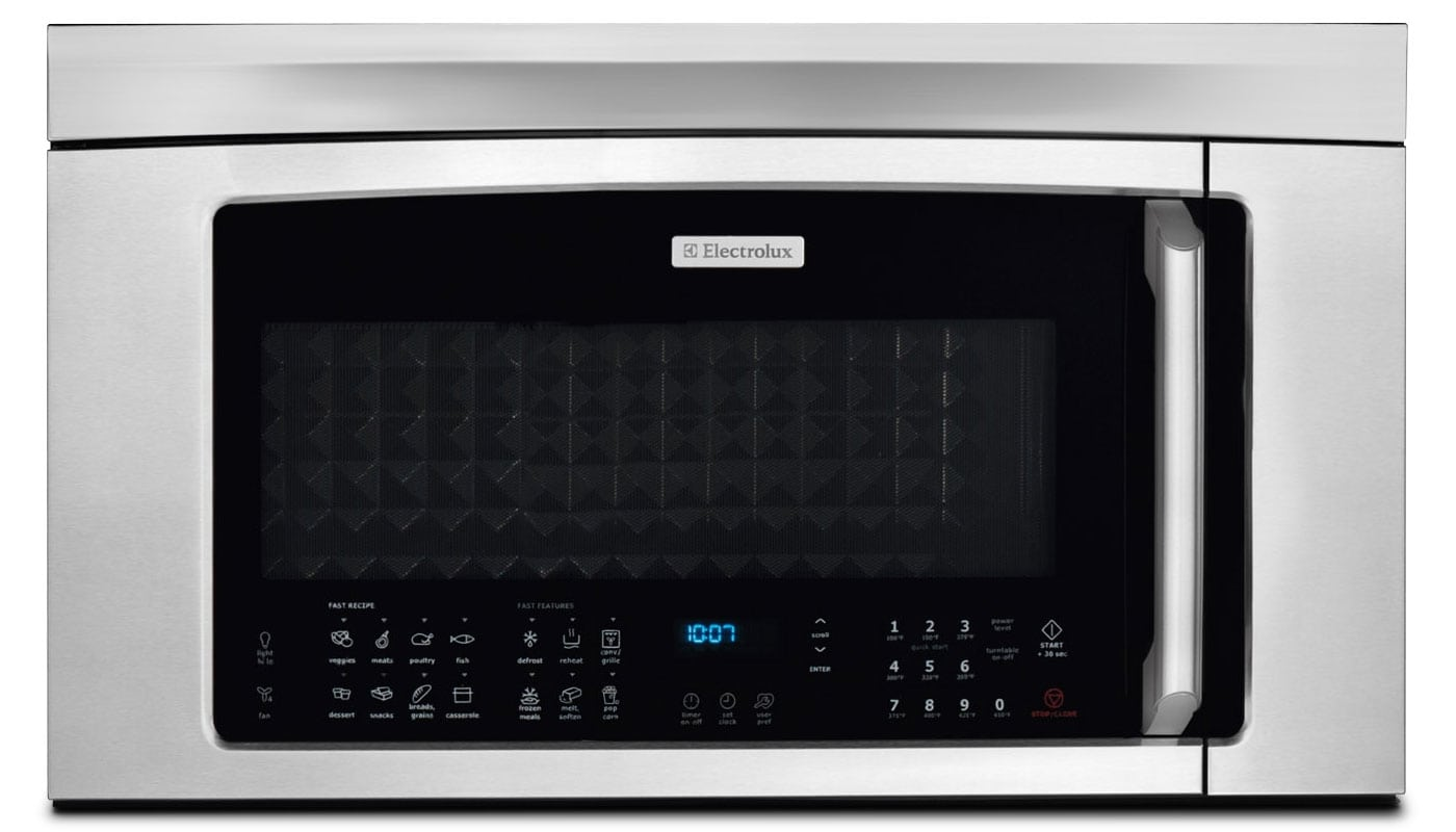 Cooking Products - Electrolux Stainless Steel Over-the-Range Microwave (1.8 Cu. Ft.) - EI30BM6CPS