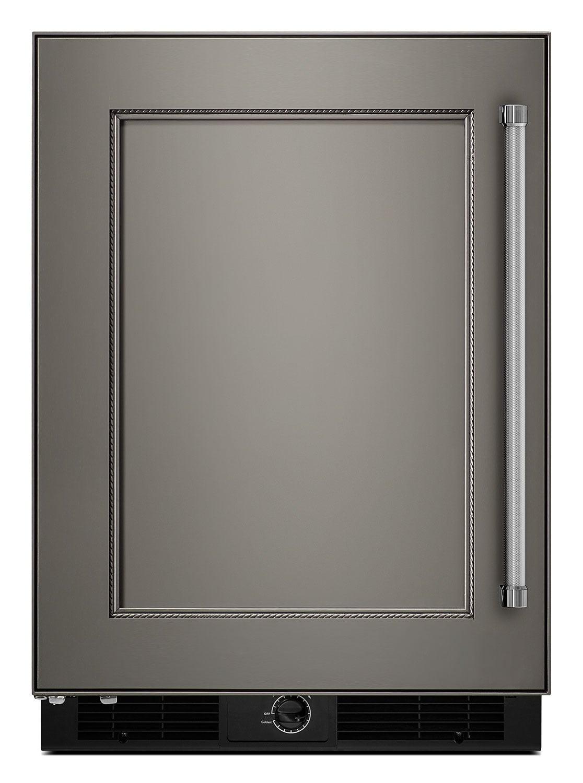 kitchenaid 4.9 cu. ft. undercounter refrigerator with left