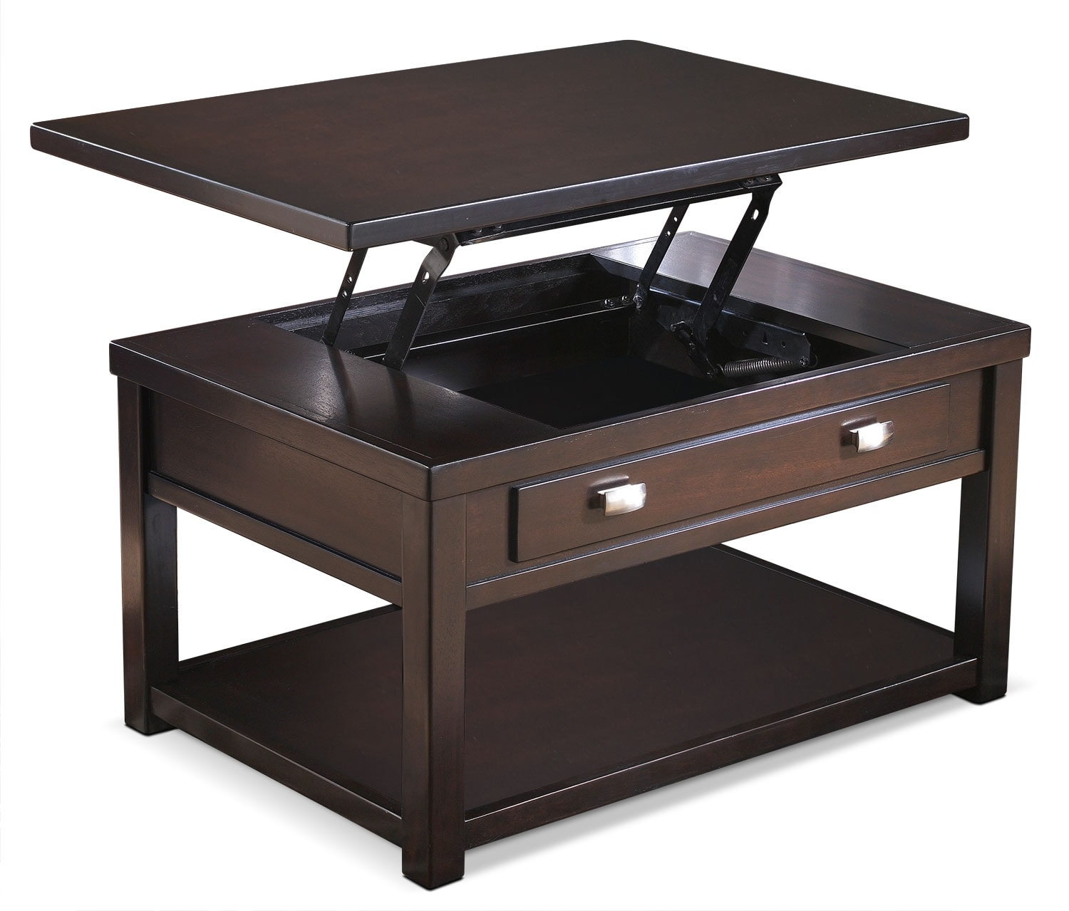 Accent and Occasional Furniture - Hatsuko Coffee Table with Lift-Top