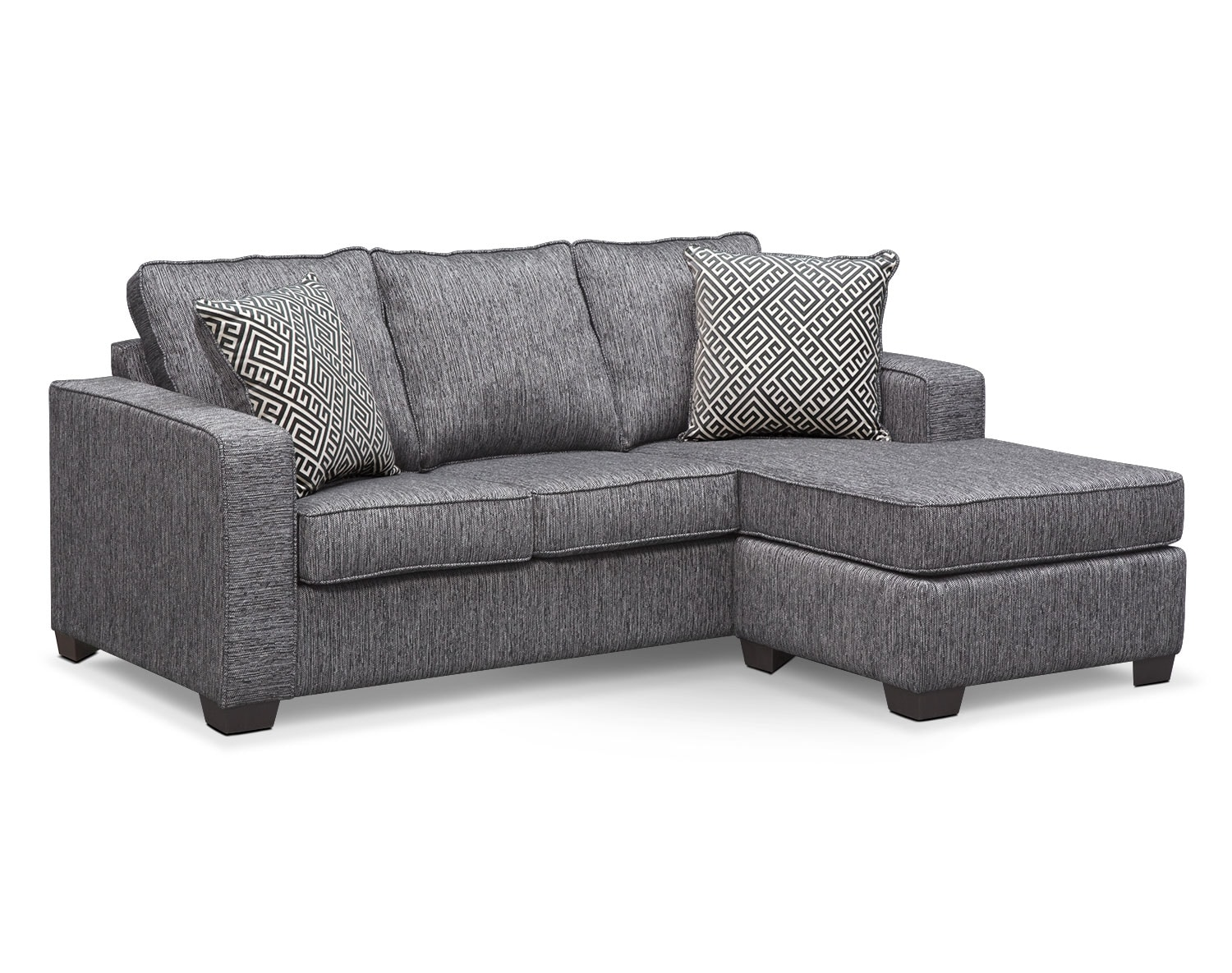 [The Sterling Charcoal Sleeper Sofa Collection]