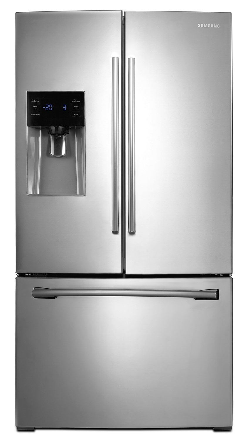 Refrigerators and Freezers - Samsung 26 Cu. Ft. French Door Refrigerator - Stainless Steel