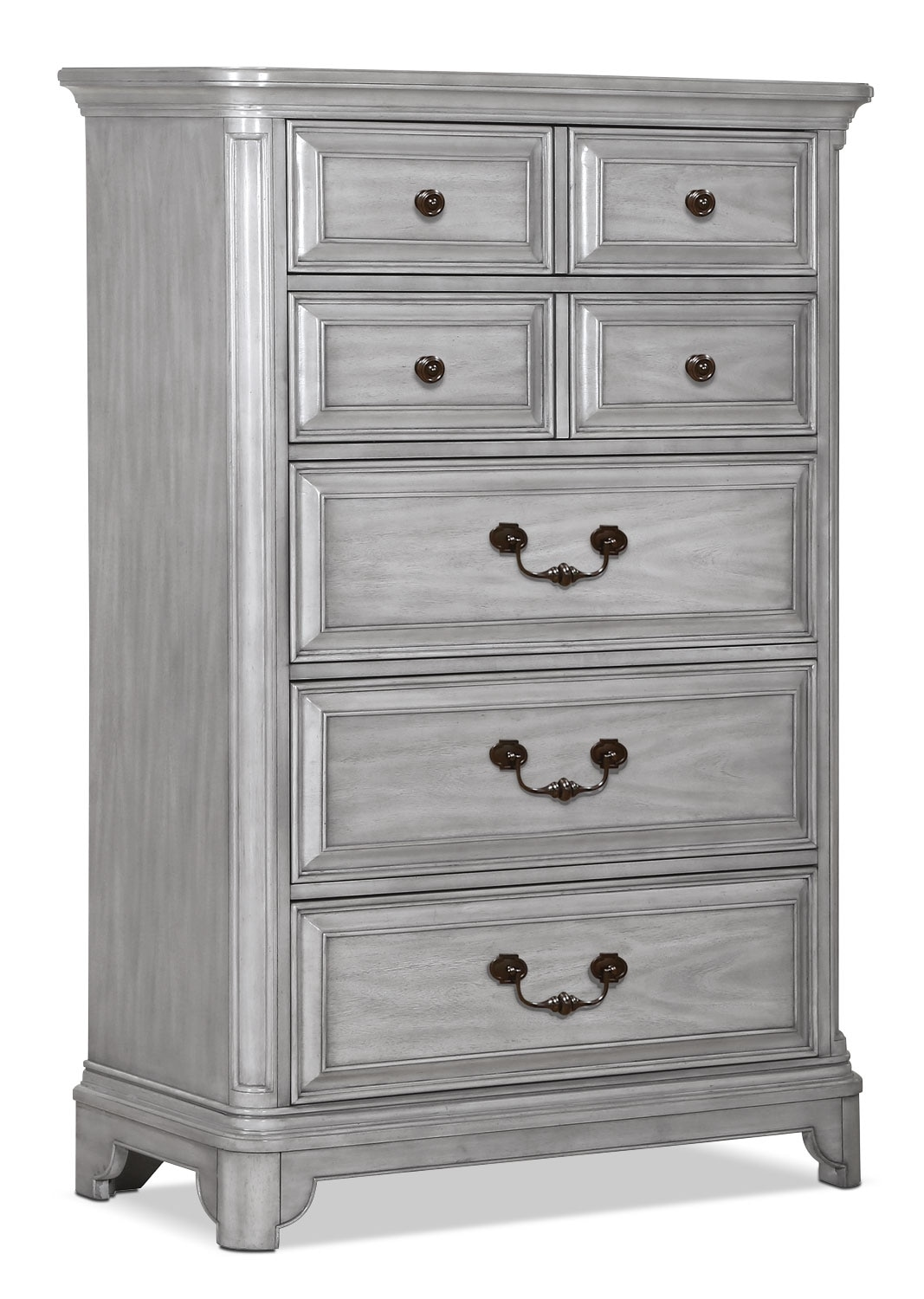 Bedroom Furniture - Tressa Chest - Weathered Grey