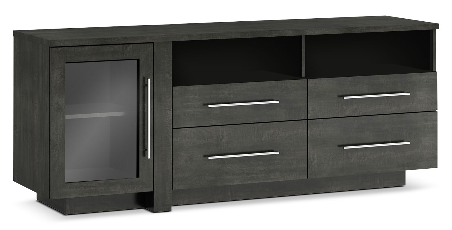 meuble pour t l viseur arklow de 69 po brick. Black Bedroom Furniture Sets. Home Design Ideas