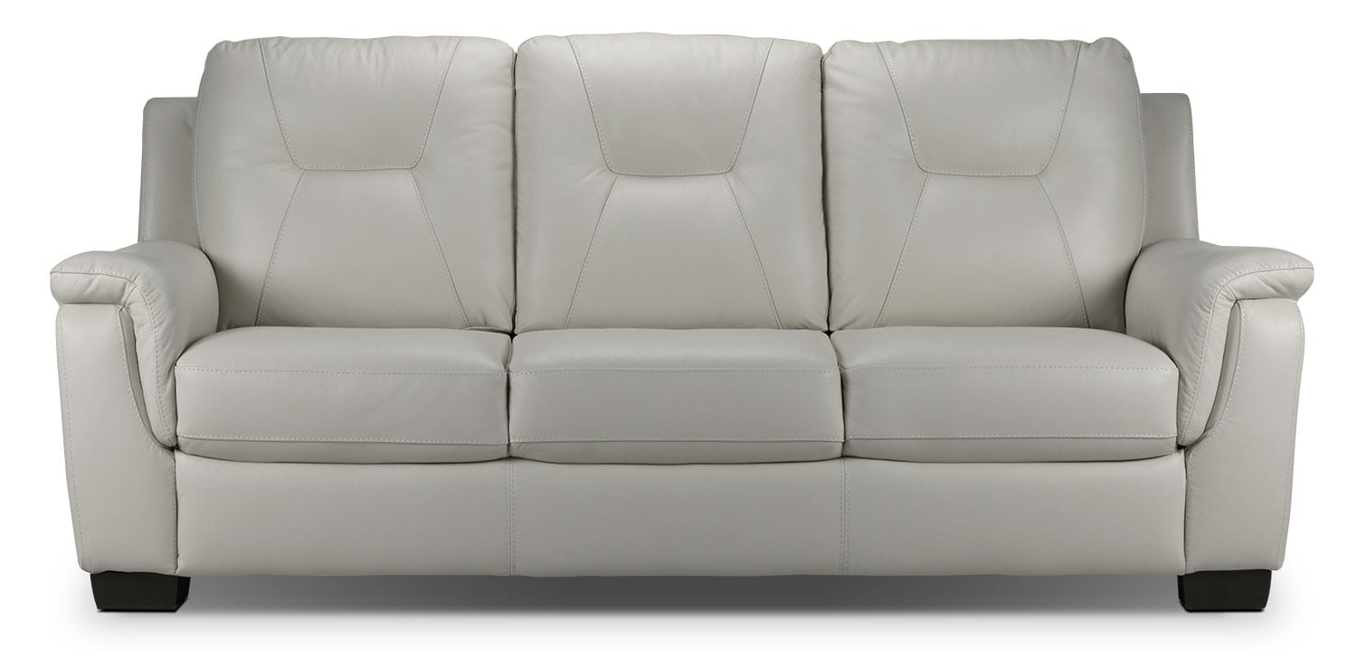 Living Room Furniture - Dalia Sofa - Silver