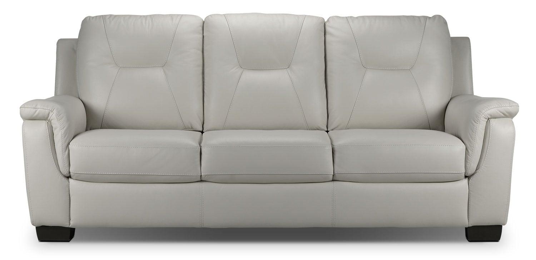 Living Room Furniture - Dalia Sofa - Silver