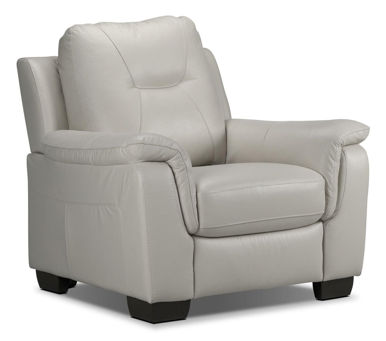 Living Room Furniture - Dalia Chair - Silver