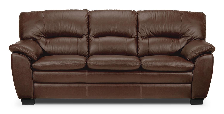 Rodero sofa noisette meubles l on for Meuble leon divan sectionnel