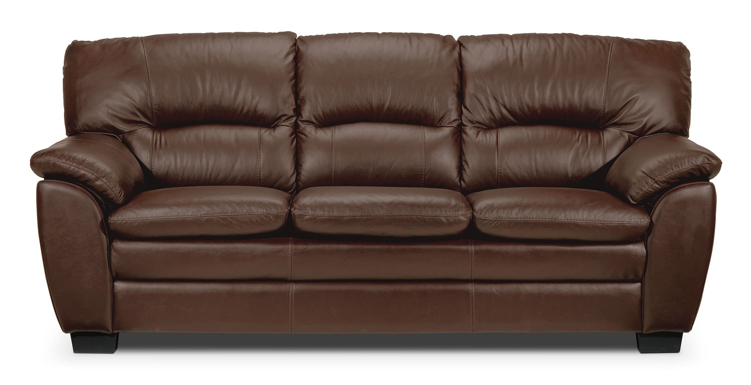 Living Room Furniture - Rodero Sofa - Hazelnut