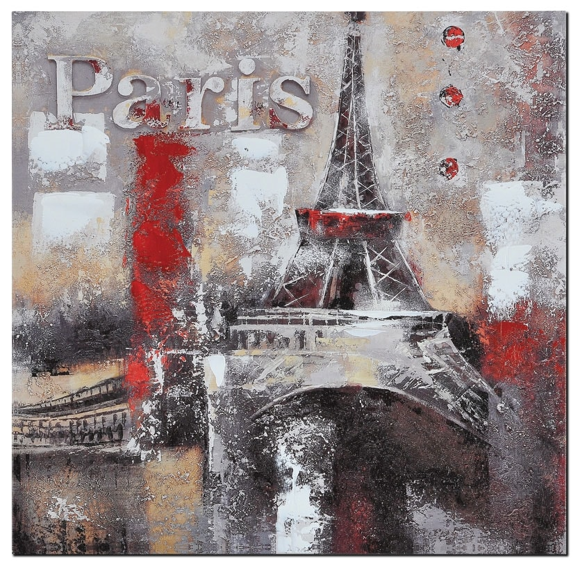 "Accent and Occasional Furniture - Memories of Paris - 20"" x 20"""