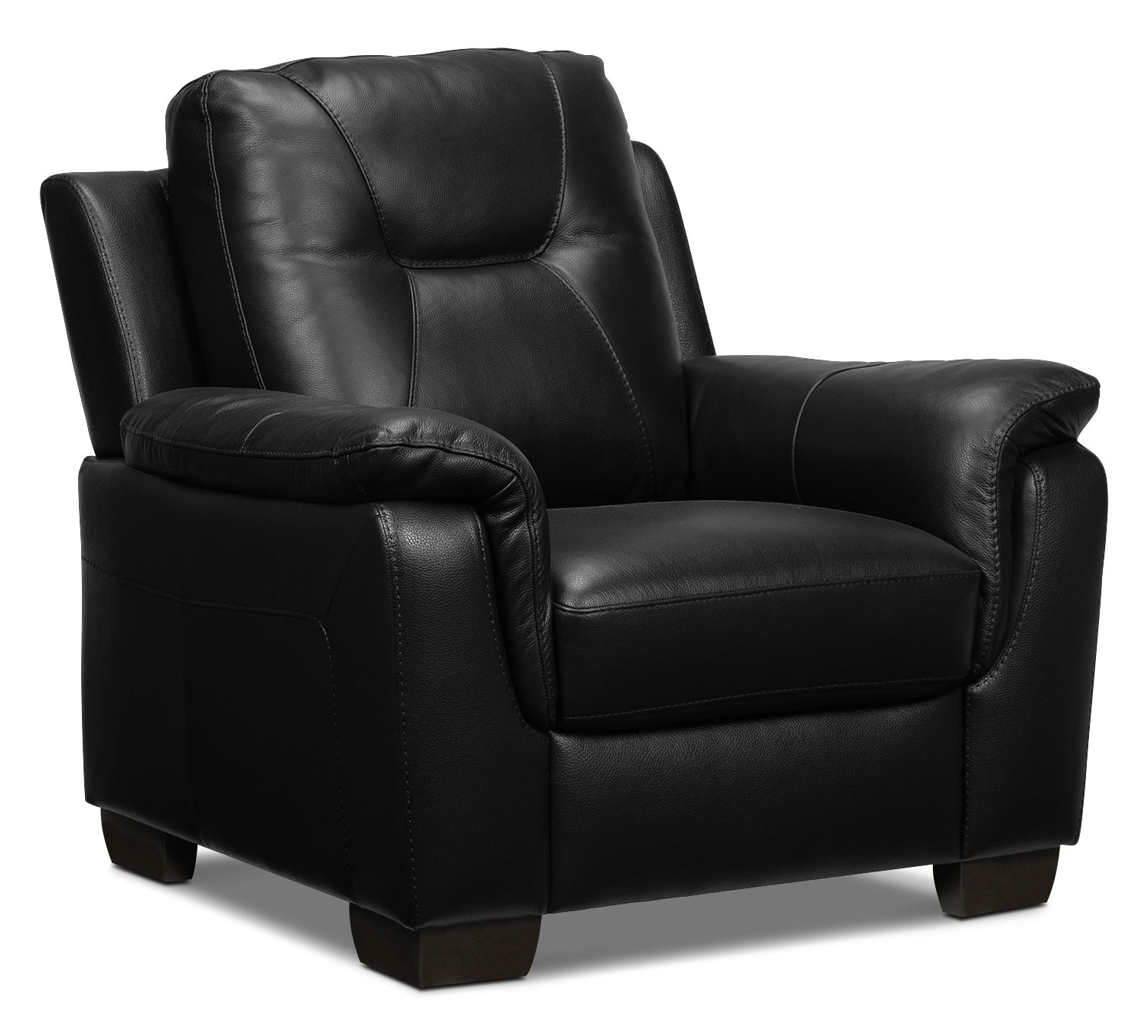 Living Room Furniture - Dalia Chair - Black