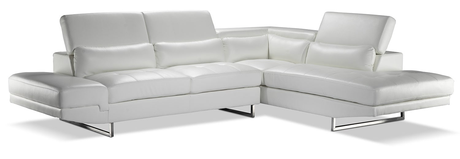 Living Room Furniture - Majorca 2 Pc. Sectional