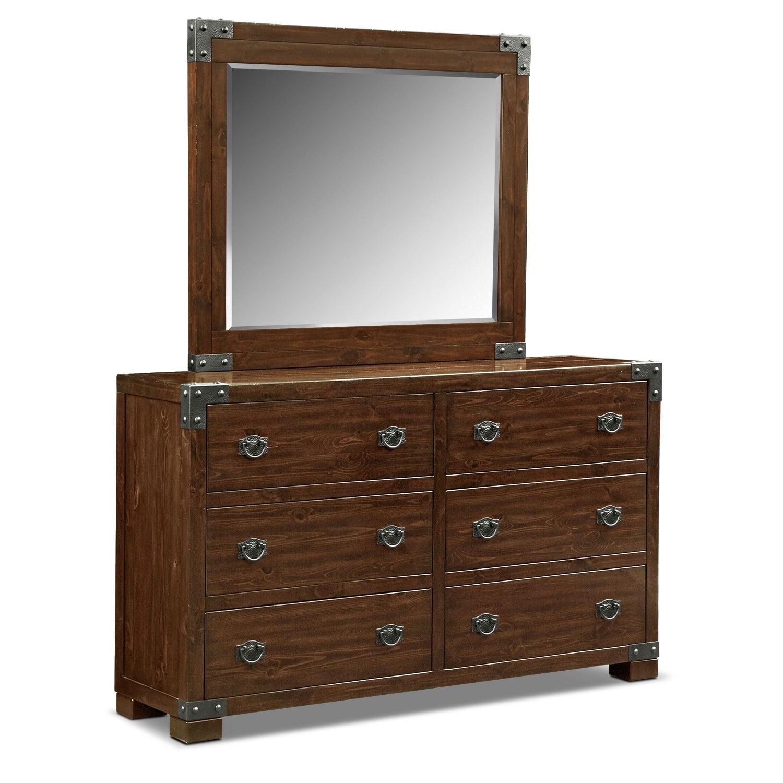 [Beckett Dresser & Mirror]