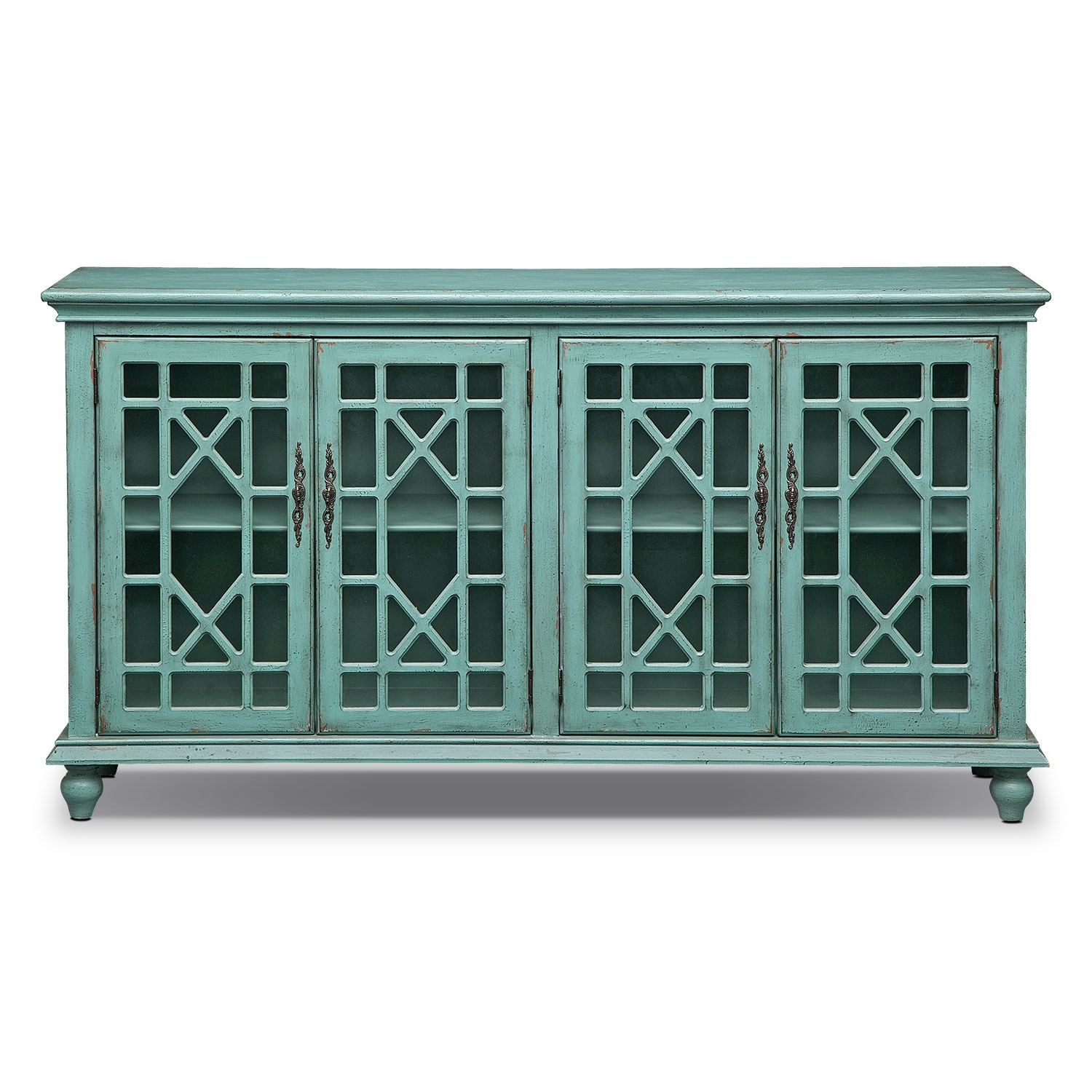 Grenoble Media Credenza Teal Value City Furniture : 402372 from www.valuecityfurniture.com size 1500 x 1500 jpeg 525kB